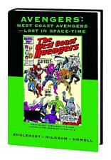 AVENGERS: WEST COAST LOST IN SPACE-TIME HARDCOVER Premiere Classic VARIANT 86 HC