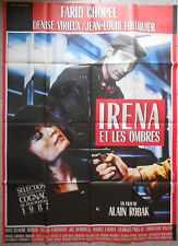 Cartel Irena y las Sombras Alain Robak Farid Chopel Denise Virieux 120x160