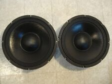 "NEW (2) 10"" Woofers Replacement Guitar Speakers.4 ohm.ten inch bass pair.PA.DJ"