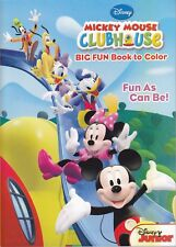 Disney Mickey Mouse Coloring Book ~ Fun As Can Be!