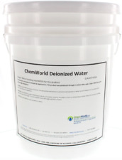 Chemworld Deionized Water (Type II) -  5 Gallons