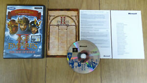 AGE OF EMPIRES 2 - THE AGE OF KINGS game (PC) - Complete & VGC