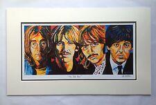 The Beatles ~ Contemporary Limited Edition Art Print By Patrick J. Killian