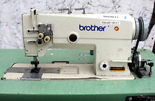 "BROTHER LT2-B842-5 Double Needle Feed 1"" Gauge Reverse Industrial Sewing Machine"