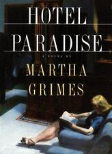 Hotel Paradise by Grimes, Martha Hardcover Book Dust Jacket First Edition