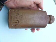 Ginger Beer /Stout Stoneware 17cms high marked R.White Registered trade mark