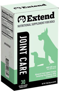 Extend Joint Care For All Size Dogs-Glucosamine,MSM,Ascorbic Acid 30 Packets