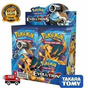 324pcs Pokemon cards Box Sun & Moon Sword Shield Evolutions Booster Sealed Card