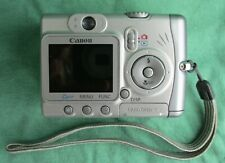 Canon PowerShot A520 4.0Mp Digital Camera - Silver - Usb Cable & Case Included