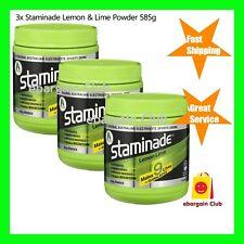 3x Staminade Lemon & Lime Powder 585g Electrolyte Sports Drink eBargainClub