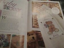 'Baby Bear' Lucie Heaton cross stitch chart(only)