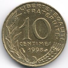 France : 10 Centimes 1998