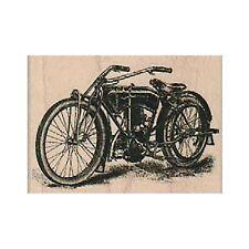 Mounted Rubber Stamp,Vintage Motorcycle Stamp, Motorcycle Stamp, Transportation