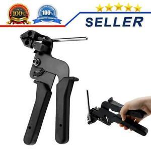 Kabelbinderzange 12mm Kabelbinderpistole Edelstahl Spannwerkzeug Spanner DM 02