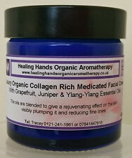 Luxury Organic 'Medicated' Anti-aging Face Cream with Collagen -60ml