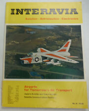 Interavia Magazine Airports For Tomorrow's Air Transport 1966 FAL 060815R