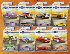 Hot Wheels 2018 100 YEARS CHEVROLET TRUCKS Walmart Excl Complete Set of 8 (A+/*)