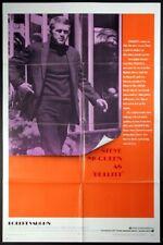 BULLITT STEVE MCQUEEN CAR CHASE CLASSIC 1968 1-SHEET NEAR MINT