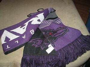 BALTIMORE RAVENS ADULT SCARF SWEET LOOKING NEW
