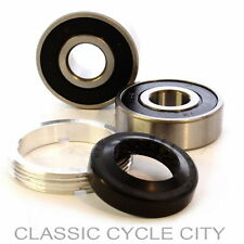 HONDA CB 500 Four k0-k2 Cuscinetto Ruota Set vorderrrad bearing retainer KIT FRONT WHEEL