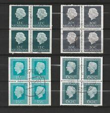 Nederland Stockkaart Blokken uit Postzegelboekjes Gebruikt