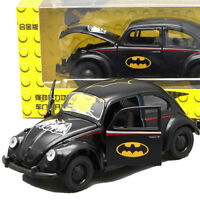1/32 Scale Diecast Vehicles Car Batman Black Beetle Classic Toy Gift Kid Toys