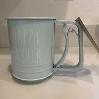 Rae Dunn HAPPY EASTER 3 Cup Flour Sifter NWT