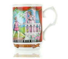 Vintage Sadler William Shakespeare Romeo Juliet Bone China Coffee Mug England.