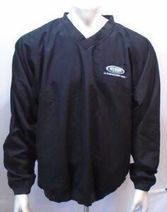 Ryder Machinery Limited Kobe Black V Neck Men's Polyester Pullover Size Large
