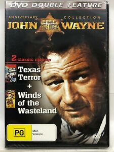 Texas Terror & Winds of the Wasteland - DVD - AusPost with Tracking - New Sealed