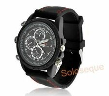RELOJ CAMARA ESPIA OCULTA 8GB MICROFONO WATCH CAMERA SPY USB VIDEO FOTOS HD HQ >