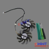 PLD08010S12H 3-Pin Dual GPU Cooling Fan +Tool for Gigabyte Graphics Card ZVOT780