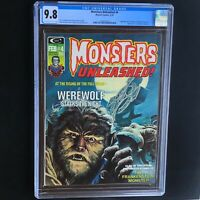 MONSTERS UNLEASHED #4 (Marvel 1974) 💥 CGC 9.8 💥 HIGHEST GRADED - 1 of ONLY 4!