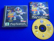 ps1 TOY STORY 2 Buzz Lightyear To The Rescue Boxed ps2 ps3 PAL