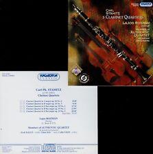 STAMITZ  5 clarinet quartets  LAJOS ROZMAN