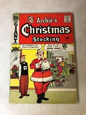 ARCHIE GIANT SERIES #5 ARCHIE'S CHRISTMAS STOCKING 1959 SANTA BETTY VERONICA