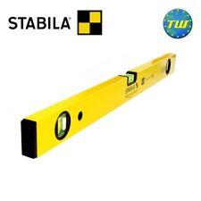 Stabila 70-2 120cm Smooth Box Spirit Level 48in 3x Vials 1200mm 70-2-120 02329