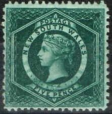 Lightly Hinged Single Australian State & Territory Stamps