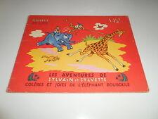 EO SYLVAIN ET SYVETTE 12/ COLERES ET JOIES DE L'ELEPHANT BOUBOULE/ BE