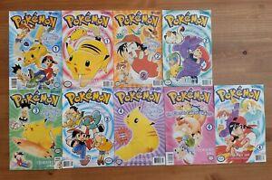 Viz Comics Pokemon Comic Lot of 8