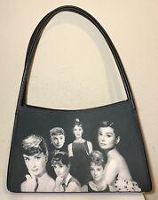 Audrey Hepburn Women's Shoulder Hand Bag Purse Picture Photo Collage Jewels NWOT