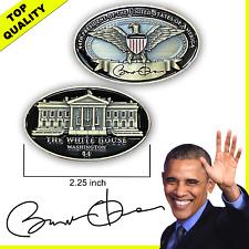 F-023 44th President Barack Obama White House Eagle signed Challenge Coin