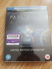 Passengers (Blu-ray & 3D Steelbook brand new sealed
