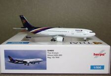 HERPA 524605 Thai Airways Airbus A300-600 Reg HS-TAW 1:500 SCALE MODEL