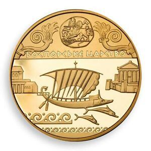 Ukraine 100 hryven Bosporan Kingdom Panticapaeum gold coin 2010