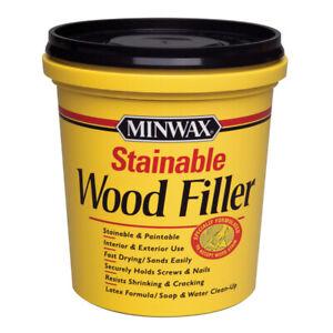 Minwax Natural Wood Filler 16 oz