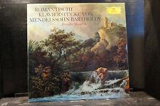 Romantische Klavierstücke von Mendelssohn Bartholdy / Masulin