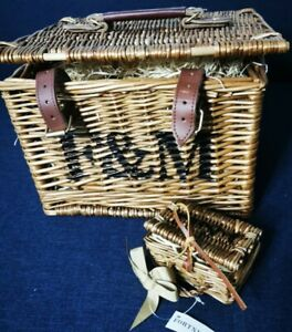 Fortnum And Mason Wicker Hamper Basket