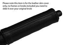 BLACK STITCH HANDBRAKE HANDLE LEATHER SKIN COVER FITS NISSAN 300ZX Z31 1984-1989