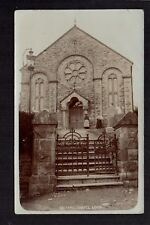 Login Calfaria Chapel - north west of St. Clears - real photographic postcard